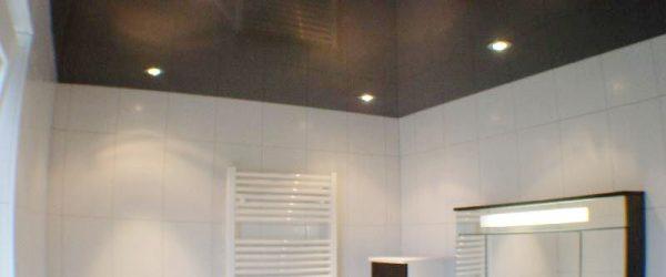 Lehmann-Spanndecken-Badezimmer